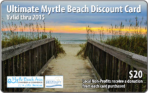 Myrtle Beach discount card